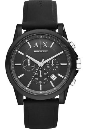 Armani Mężczyzna Zegarki - Zegarek - AX1326 Black/Black