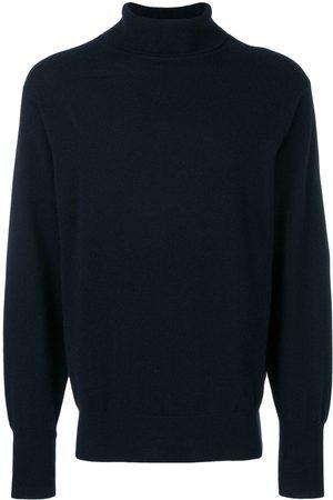 N.PEAL Mężczyzna Swetry i Pulowery - Blue