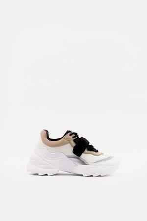 buty damskie damskie sport i rekreacja Zara, porównaj ceny i
