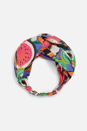 Zara Wzorzysta opaska typu turban
