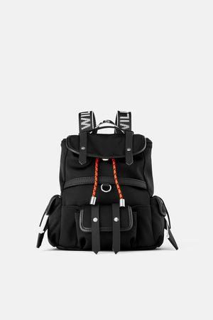 Zara Mini plecak nylonowy
