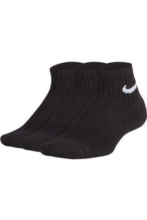 Nike Skarpety treningowe dla dzieci Performance Cushioned Quarter (3 pary)
