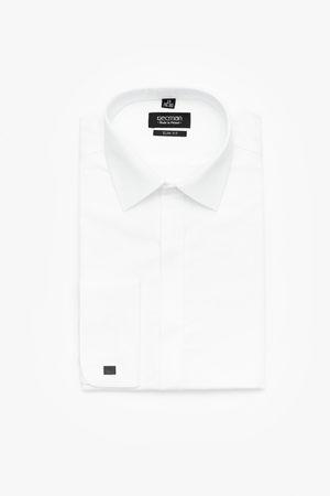 Recman Mężczyzna Na co dzień - Koszula versone 2383 na spinki slim fit