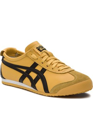 Onitsuka Tiger Buty casual - Sneakersy - Mexico 66 DL408 Yellow/Black 0490