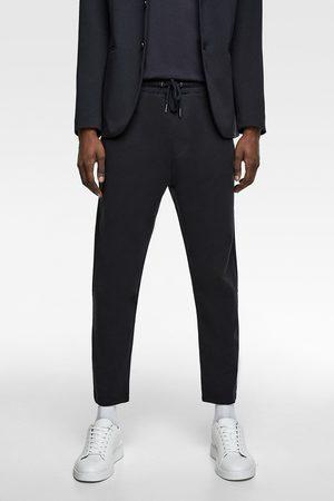 Zara Spodnie typu jogger od kompletu