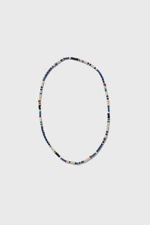 Zara Naszyjnik z niebieskimi koralikami