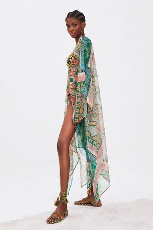 Zara Kimono z nadrukiem