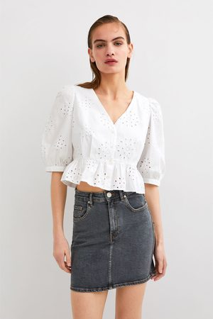 Zara Spódnica jeansowa mini