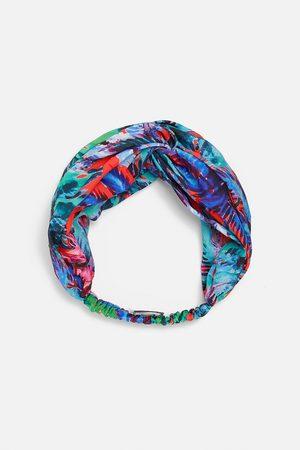 Zara Kobieta Opaski - Wzorzysta opaska typu turban