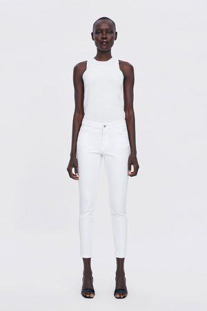 Zara Spodnie cygaretki