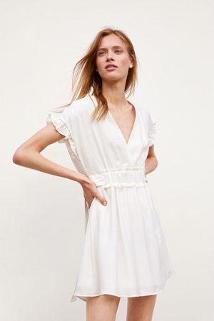 Zara Kobieta Sukienki - Sukienka z kokardami