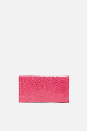 Zara Embossed wallet purse