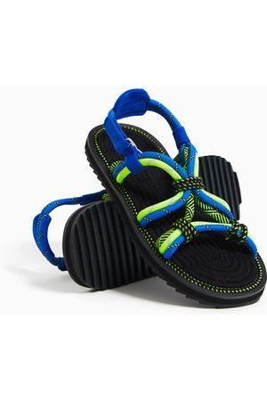 Zara Contrast cord sandals