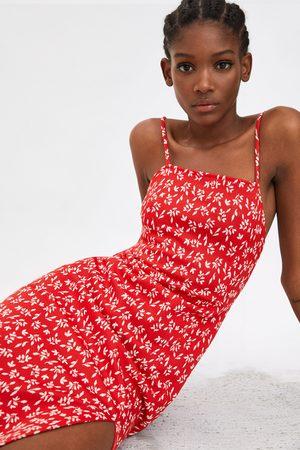 Zara Sukienka z nadrukiem