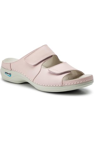 Nursing Care Klapki - Viena WG822 Rosa Claro/Light Pink
