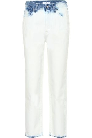 7 for all Mankind Kobieta Jeansy - Malia cropped high-rise jeans