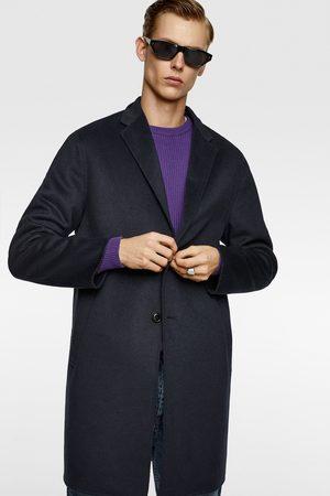 Zara Mężczyzna Płaszcze - Płaszcz zapinany na guziki