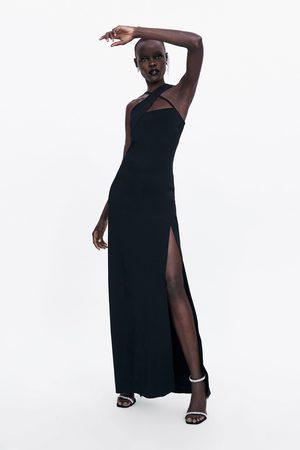 Zara Sukienka ze skrzyżowanymi ramiączkami z limitowanej edycji
