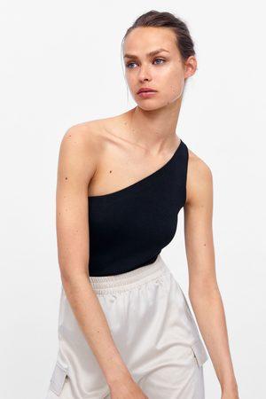 Zara Asymmetric bodysuit