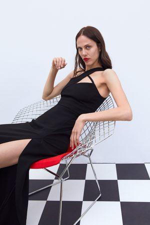 Zara Kobieta Sukienki - Sukienka ze skrzyżowanymi ramiączkami z limitowanej edycji