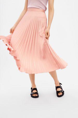 Zara Kobieta Spódnice plisowane - Plisowana spódnica