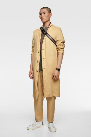 Zara Płaszcz w stylu rustykalnym