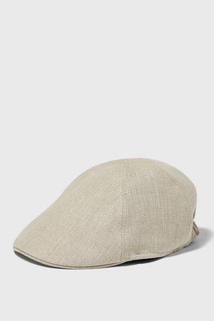 Zara Lniana czapka