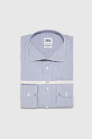 Zara Koszula w kratę z kolekcji premium
