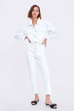 Zara Spodnie jeansowe zw premium '80s straight