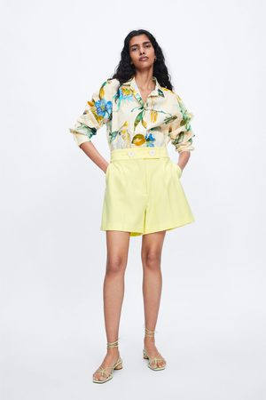 Zara Buttoned front bermudas