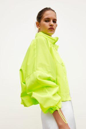 Zara Kurtka składana do kieszeni z saszetką-plecakiem