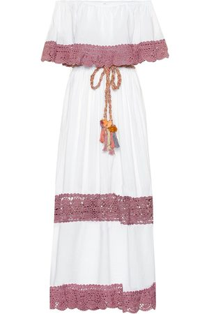ANNA KOSTUROVA Casablanca cotton maxi dress