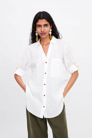 seksi damskie koszule i bluzki Zara, porównaj ceny i kup online