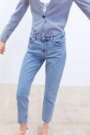 Zara Spodnie jeansowe z kolekcji z1975 typu mom fit