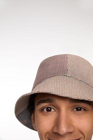 Zara Patchworkowy kapelusz przeciwdeszczowy