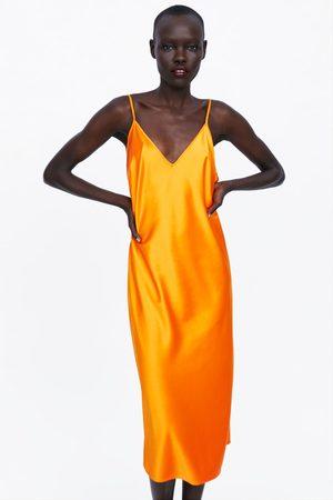 Zara Sukienka w stylu bieliźnianym z kolekcji premium