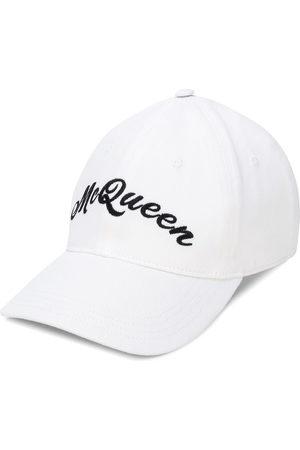Alexander McQueen Mężczyzna Kapelusze - White