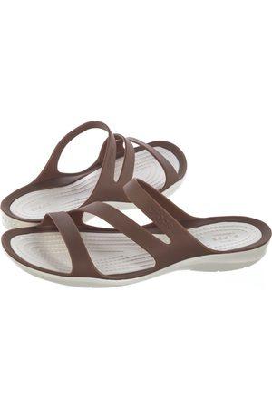 Crocs Swiftwater Sandal W Bronze/Oyster 203998-81F (CR120-f)