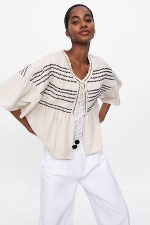 c5f9b1cae2550 Beżowe Tkaniny damskie płaszcze i kurtki, porównaj ceny i kup online