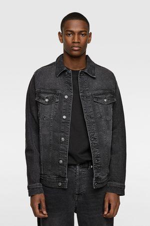 Zara Kurtka jeansowa o wygodnym kroju
