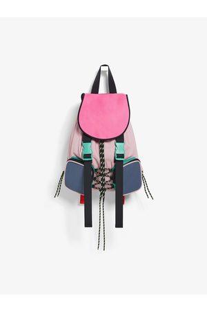 Zara Plecak z tkaniny technicznej