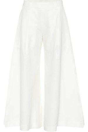 Cult Gaia Maia cotton and linen pants