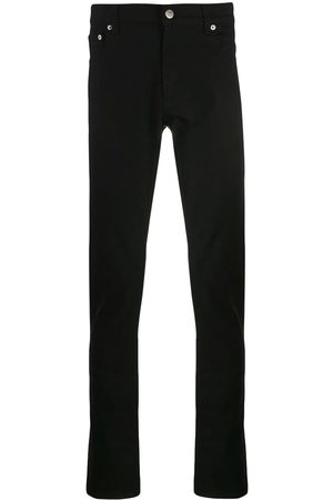 Alexander McQueen Mężczyzna Rurki i Slim Fit - Black