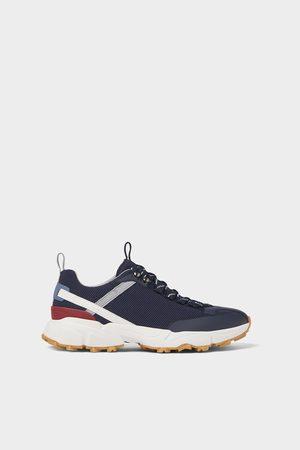 Zara Tekstylne buty sportowe