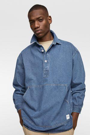 Zara Mężczyzna Kurtki jeansowe - Kurtka jeansowa