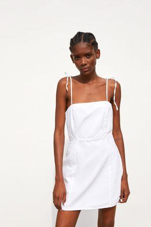 Zara Kobieta Sukienki - Sukienka na ramiączkach