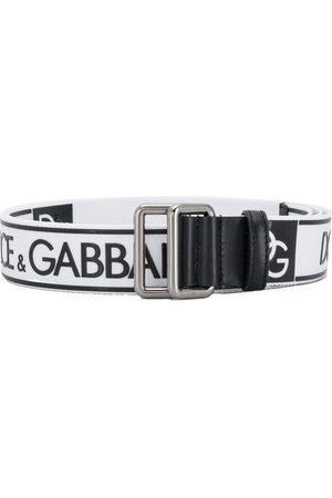 Dolce & Gabbana Mężczyzna Paski - White