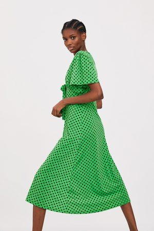 Zara Sukienka w kropki