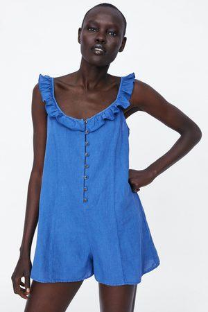 Zara Kombinezon w stylu rustykalnym