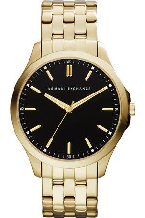 Armani Mężczyzna Zegarki - Zegarek - Hampton AX2145 Gold/Gold